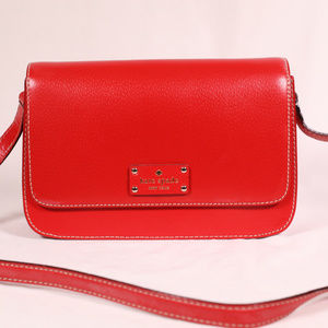 Red Kate Spade Crossbody Bag